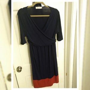 Latched mama wrap dress